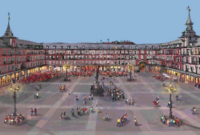 Book in Madrid - Plaza Mayor